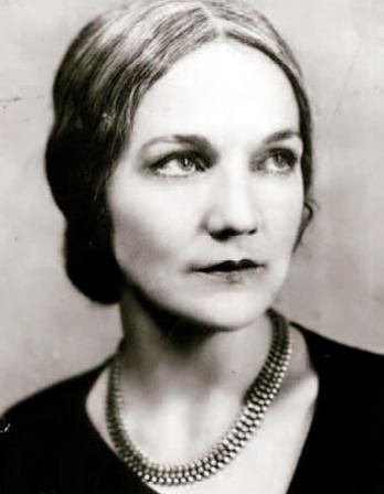Photograph of American novelist Katherine Anne Porter.