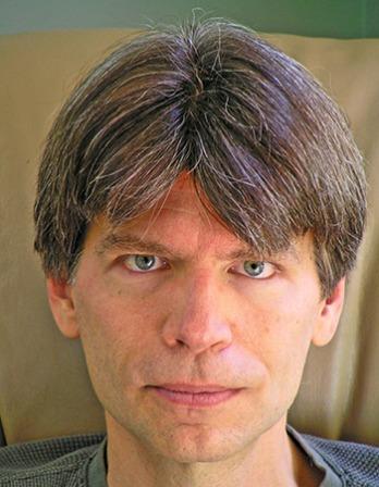 American novelist Richard Powers.