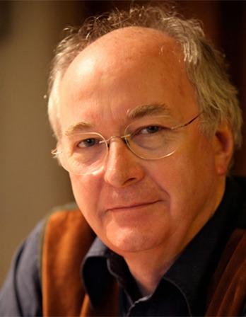 British author Philip Pullman.