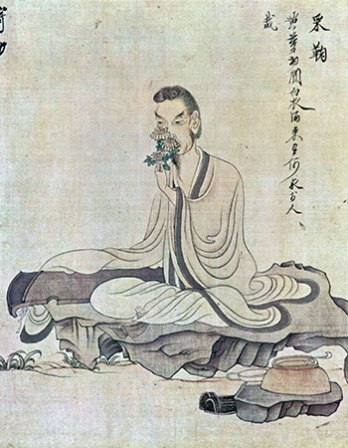 Chinese poet Tao Qian.