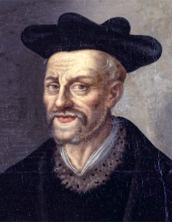 Painting of François Rabelais.
