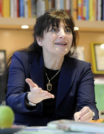 American food writer Ruth Reichl.