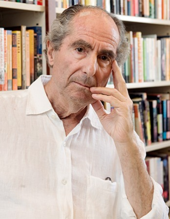 American writer Philip Roth.