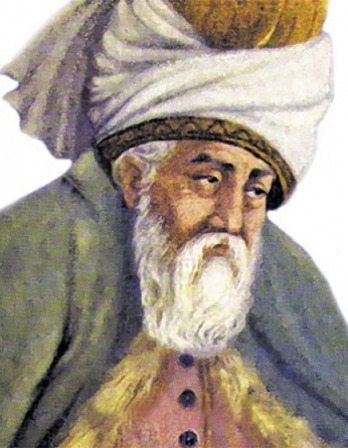 Sufi mystic and poet Rumi.