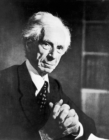 British philosopher, logician, and social critic Bertrand Russell.
