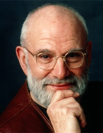 Color photograph of Oliver Sacks with a white beard and glasses.