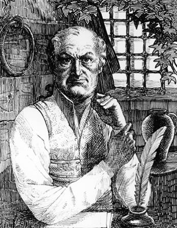 French author the Marquis de Sade.