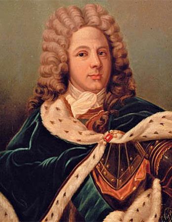 Soldier and writer Louis de Rouvroy, duc de Saint-Simon.