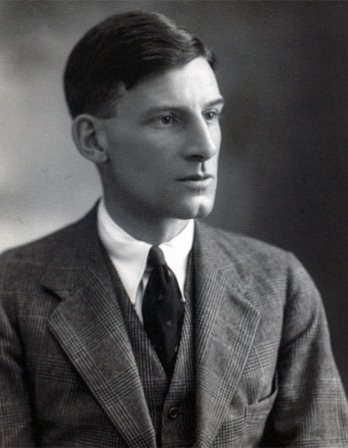 English poet and novelist Siegfried Sassoon.