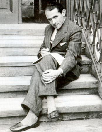 Photograph of Polish writer, artist, teacher, and critic Bruno Schulz.