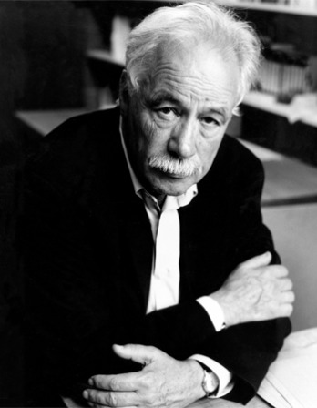 Photograph of German-English novelist W.G. Sebald.