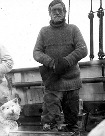 Polar explorer Ernest Shackleton.