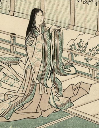 Japanese diarist and poet Sei Shōnagon.