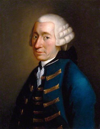 Scottish novelist Tobias Smollett.