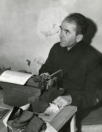 German architect and Nazi official Albert Speer.