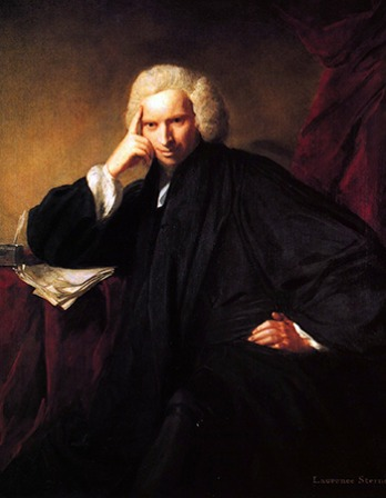 British writer Laurence Sterne.