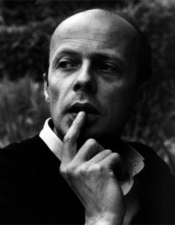 Photograph of German writer Patrick Süskind.