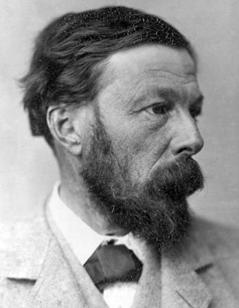 Photograph of English essayist, poet, and biographer John Addington Symonds.