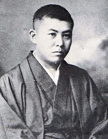 Japanese author Tanizaki Juni'chirō.