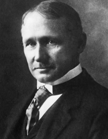 Frederick W. Taylor in suit and tie