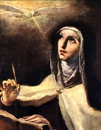 Saint Teresa of Ávila.