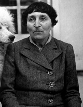 American author Alice B. Toklas.