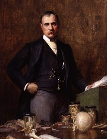 British surgeon Frederick Treves.