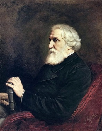 Russian author Ivan Turgenev.