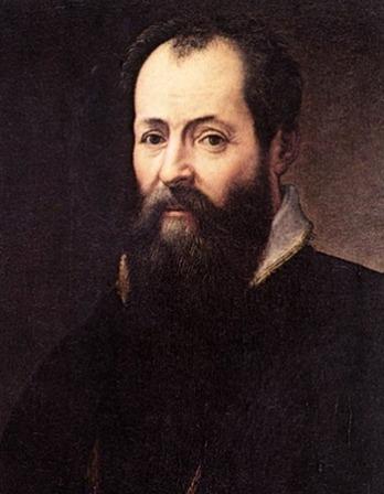 Italian artist and author Giorgio Vasari.