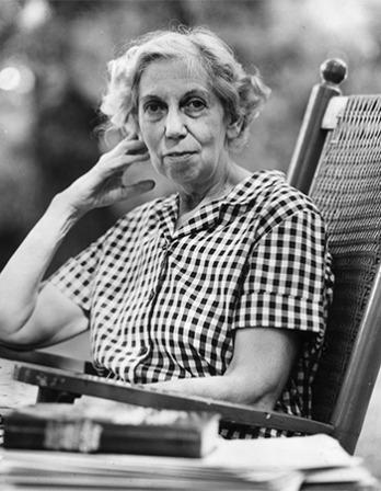 American writer Eudora Welty.