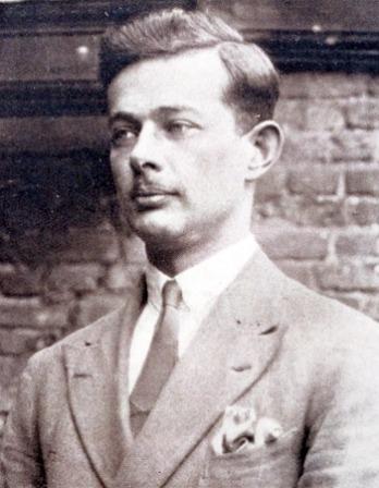 Photograph of English novelist and satirist T. H. White.