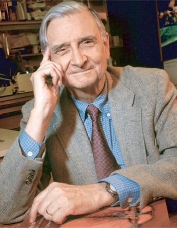 Photograph of American biologist Edward O. Wilson.
