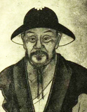 Image of Chinese Song Dynasty poet Mei Yaochen.