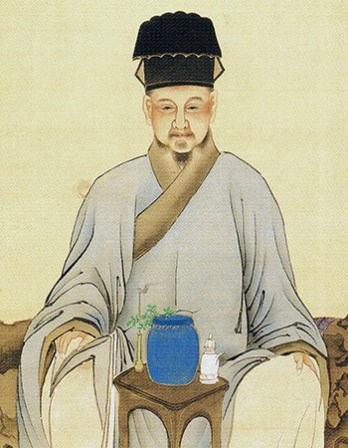 Chinese tea writer Lu Yu.