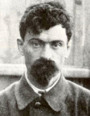 Black and white photograph of Bolshevik officer Yakov Yurovsky.