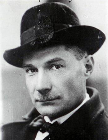Russian author Yevgeny Zamyatin.