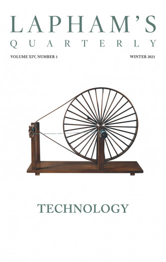 Cover of Technology, the Winter 2021 issue of Lapham's Quarterly