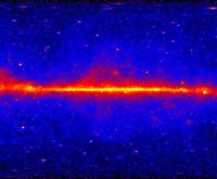 Fermi's Large Area Telescope's five-year view of the gamma-ray sky, 2013. NASA/DOE/Fermi LAT Collaboration.