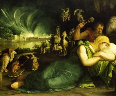 Night, by Battista Dossi, 1544. © bpk Bildagentur/Art Resource, NY.