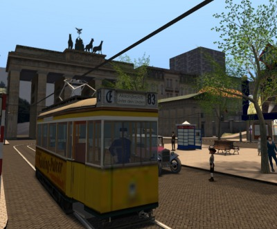A historical recreation of 1920s Berlin in the virtual online world Second Life by Jo Yardley.