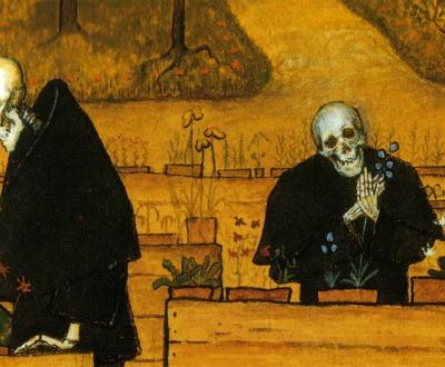 The Garden of Death, by Hugo Simberg, 1896.