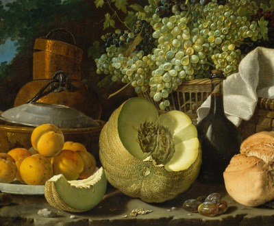 The Afternoon Meal, by Luis Meléndez, c. 1772