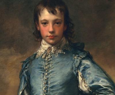 The Blue Boy, by Thomas Gainsborough, c. 1770.