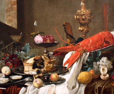 Still Life, by Carstian Luyckx, c. 1640. Columbus Museum of Art.