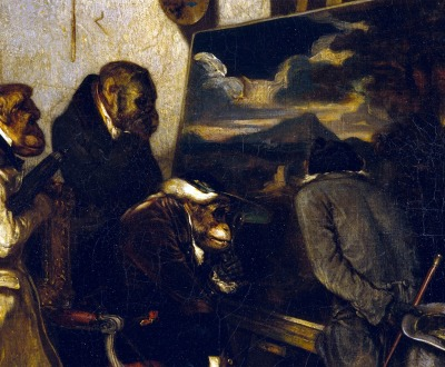 The Experts, by Alexandre-Gabriel Decamps, 1837.