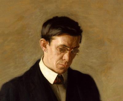 The Thinker: Portrait of Louis N. Kenton, by Thomas Eakins, 1900.