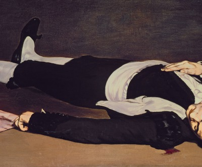 The Dead Toreador, by Édouard Manet, c. 1864. National Gallery of Art, Washington D.C.
