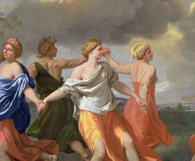 A Dance to the Music of Time, by Nicolas Poussin, c. 1635.