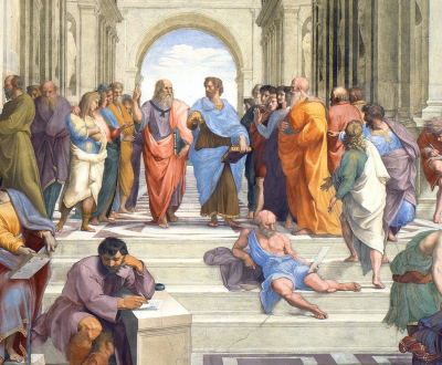 School of Athens, by Raphael, 1505, Apostolic Palace, Vatican City.