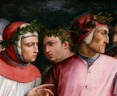 Six Tuscan Poets, by Giorgio Vasari, 1544.